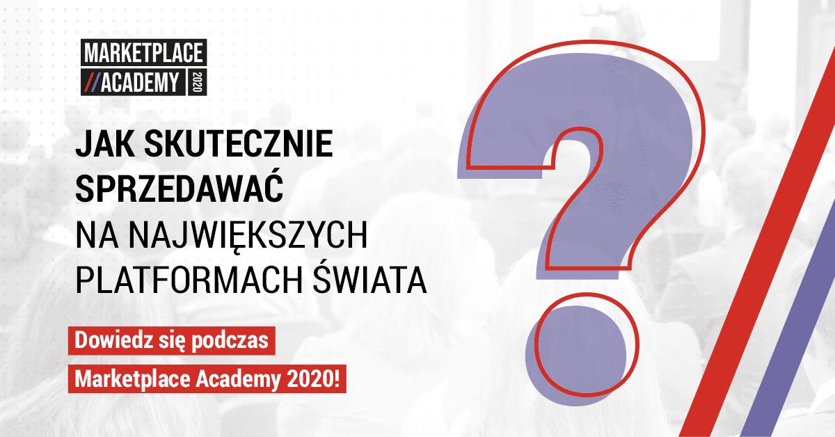 Marketplace Academy 2020 pod patronatem e-Izby