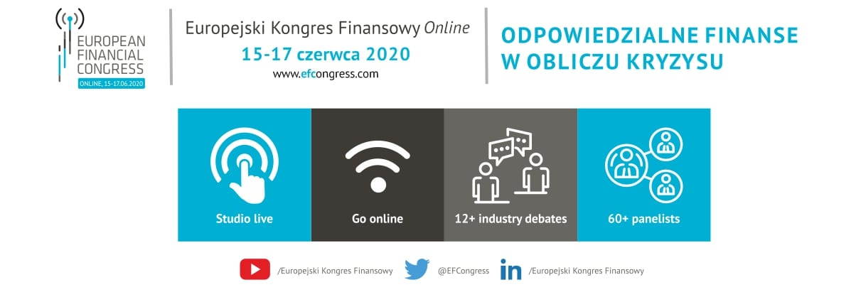 Europejski Kongres Finansowy Online pod patronatem e-Izby
