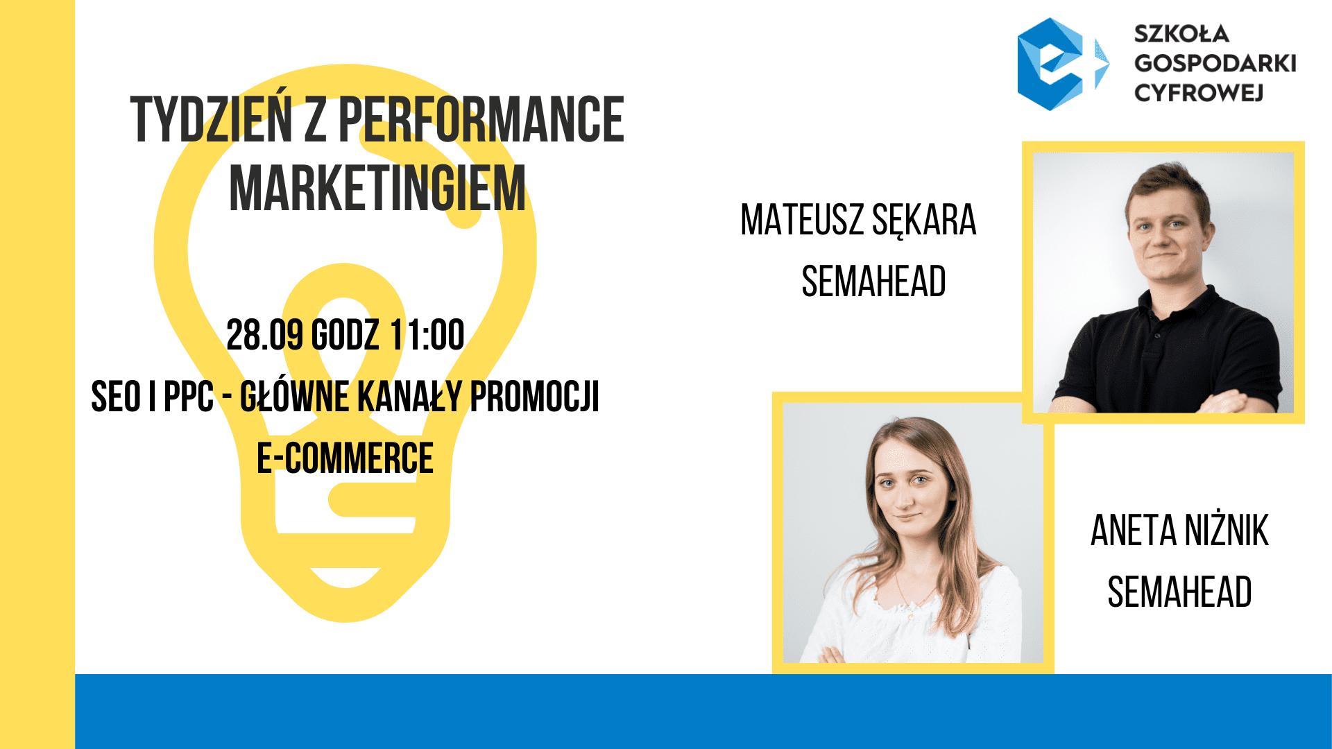Tydzień z performance marketingiem