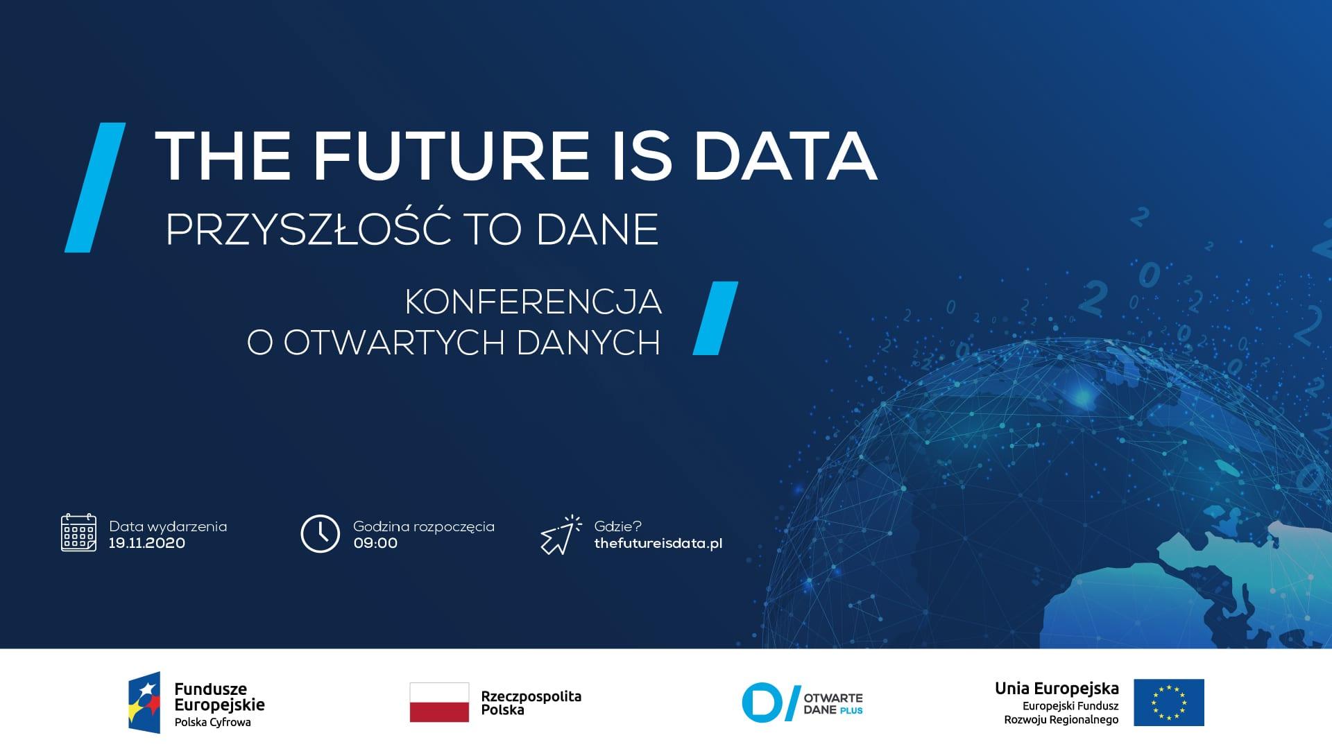 "Konferencja ""The Future is data"" pod patronatem e-Izby"