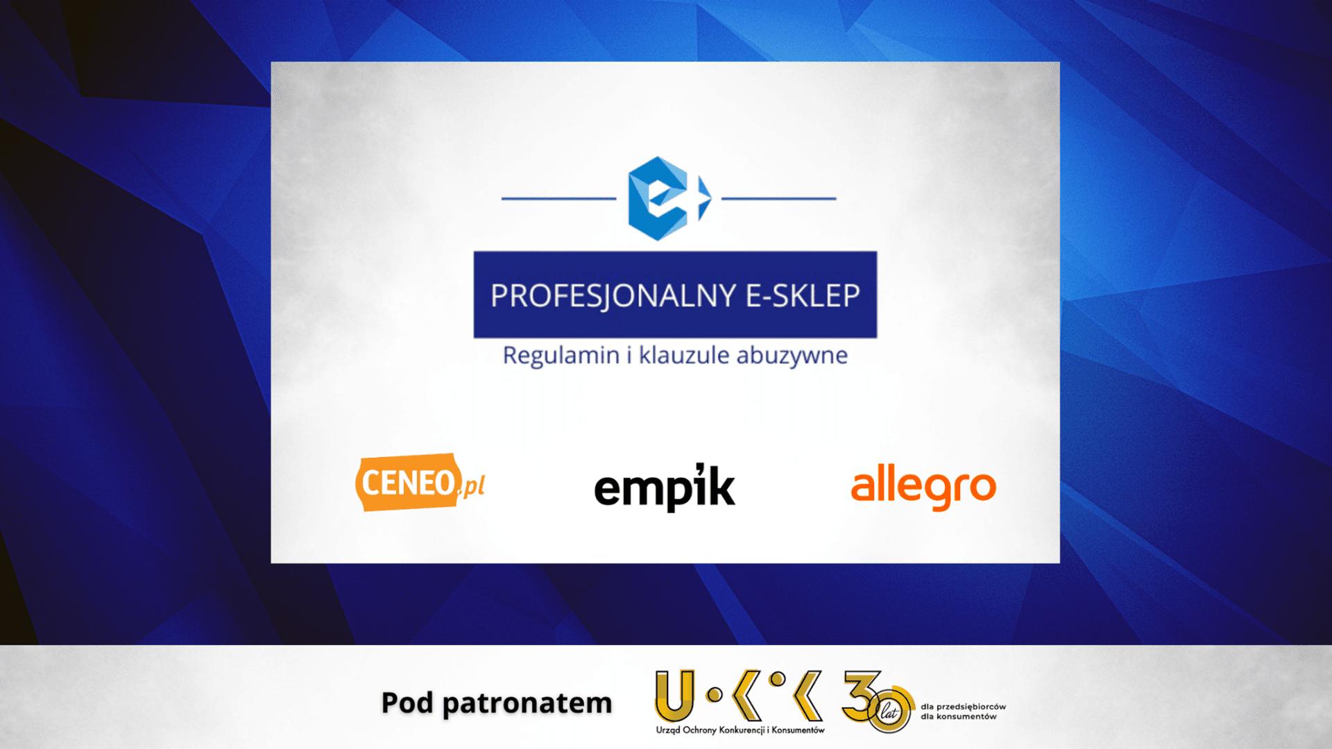 e-Izba edukuje: Profesjonalny e-sklep. Regulamin i klauzule abuzywne