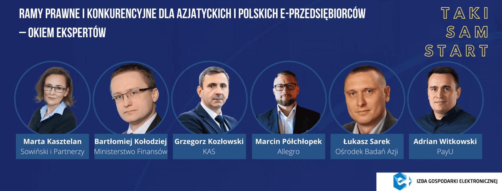 """e-Izba Round Table """"Taki sam start – równe ramy prawne i konkurencyjne dla azjatyckich i polskich e-przedsiębiorców okiem ekspertów. Konkretne rozwiązania''"""