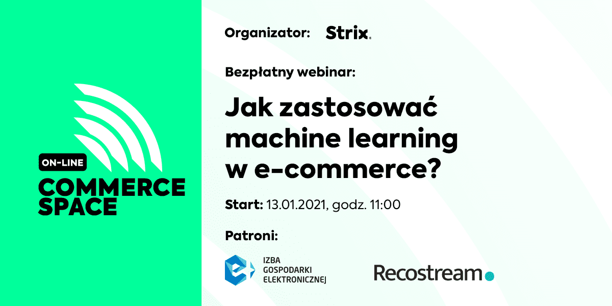 Commerce Space Online: Jak wdrożyć machine learning w e-commerce?