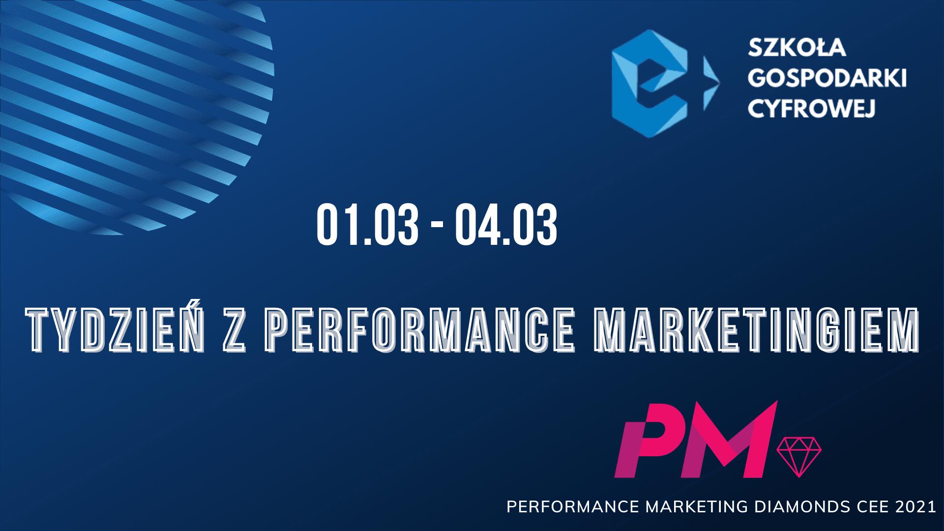 Zapraszamy na Tydzień z Performance Marketingiem!