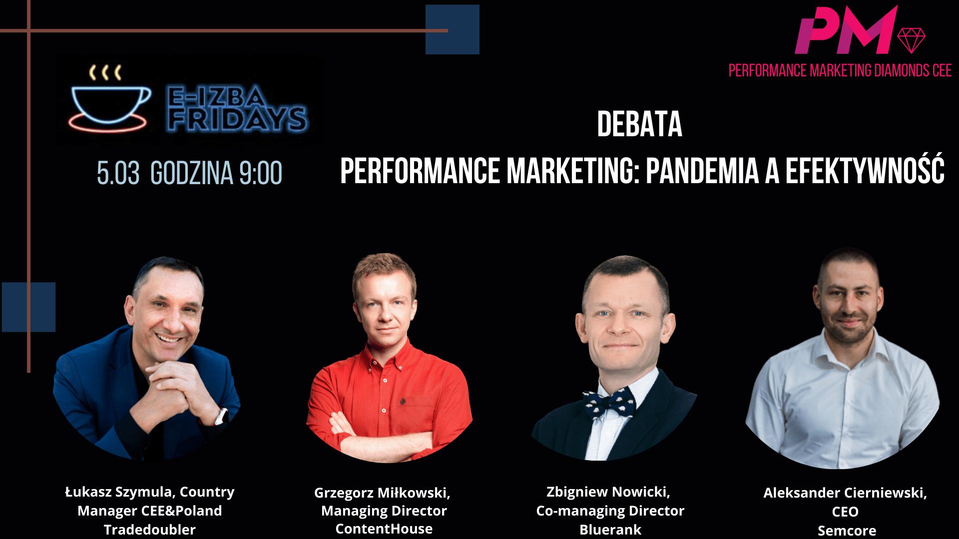 e-Izba Friday – Performance Marketing: pandemia a efektywność