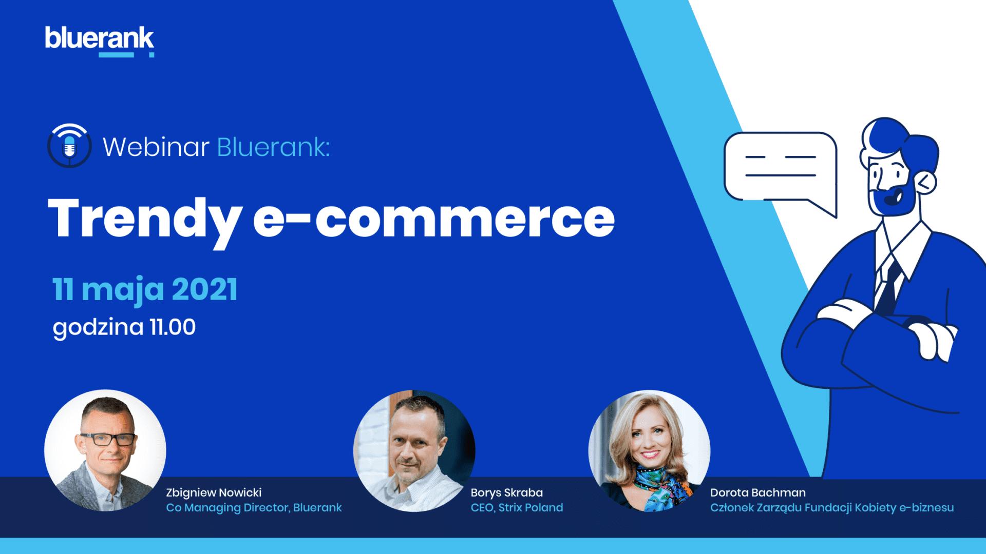 "Webinar ,,Trendy w e-commerce"" pod patronatem e-Izby"