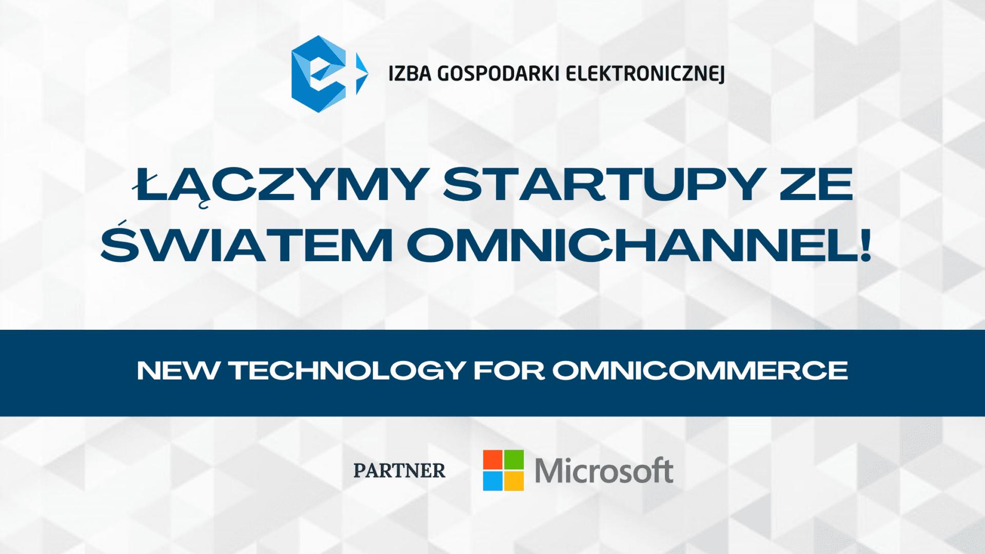 Pokaż swój startup na spotkaniu New Technology for Omnicommerce!