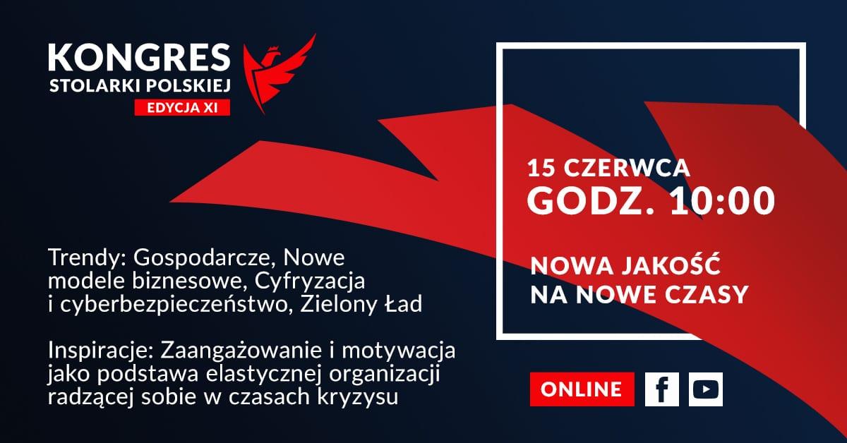 XI Kongres Stolarki Polskiej pod patronatem e-Izby