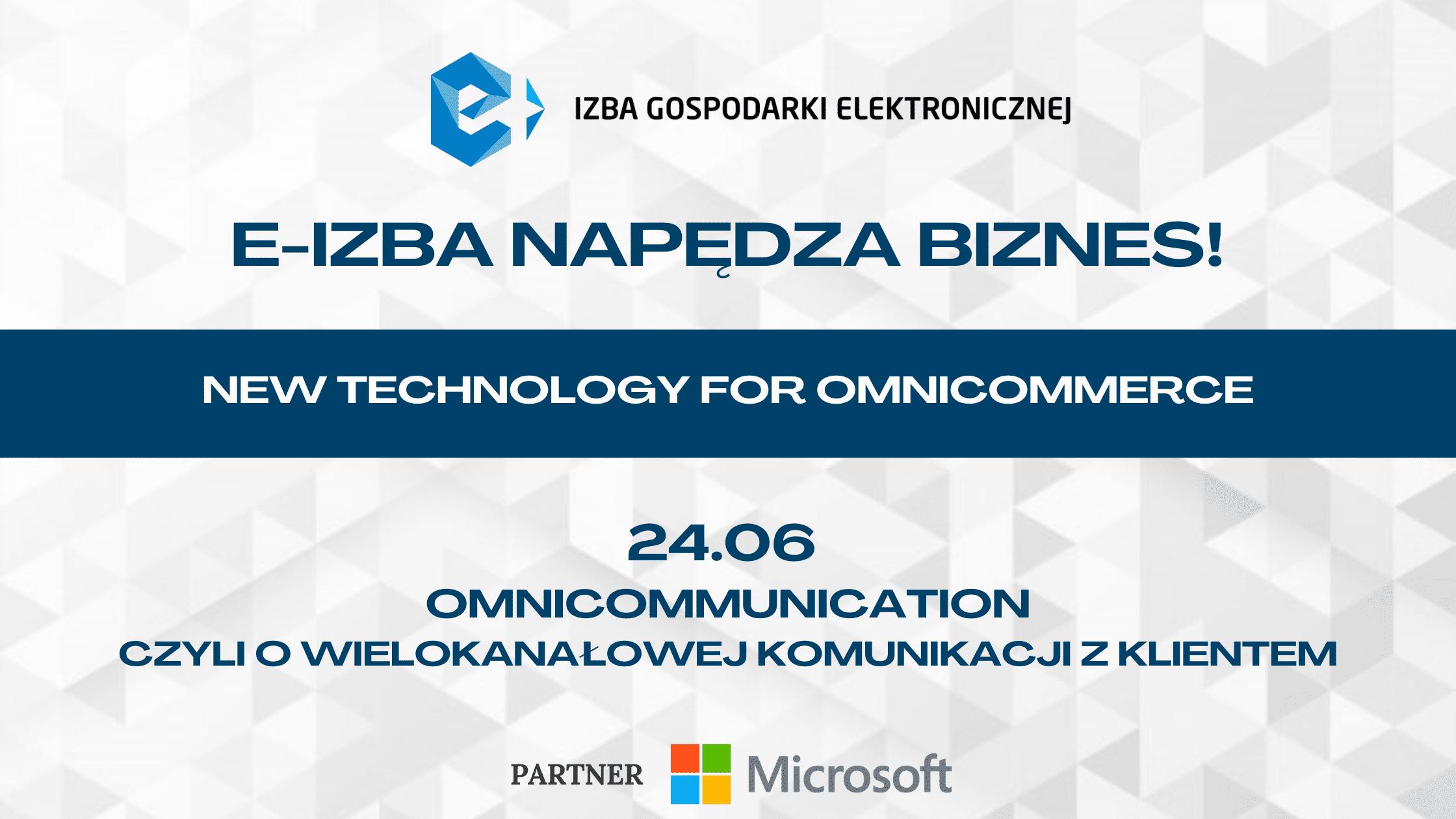 Drugie spotkanie New Technology for Omnicommerce już 24.06!