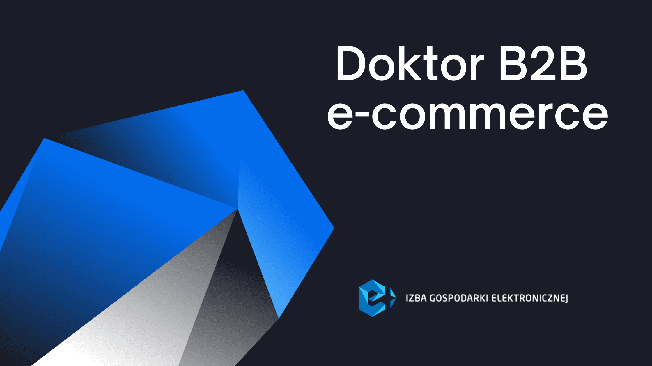 """Doktor B2B e-commerce"" – nowy projekt e-Izby"